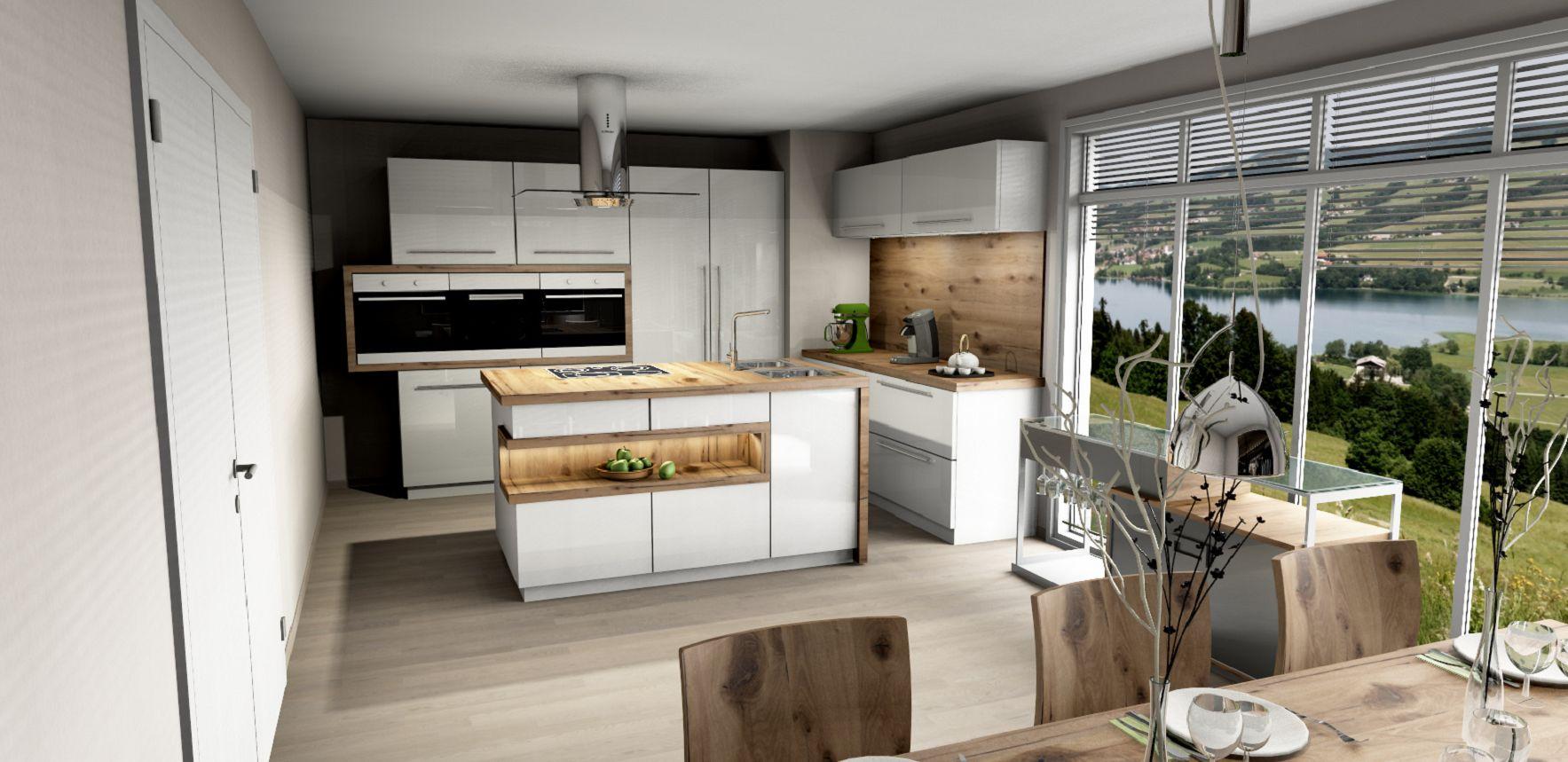 Wir planen mit Ihnen eine Küche, die Ihren Vorstellungen entspricht